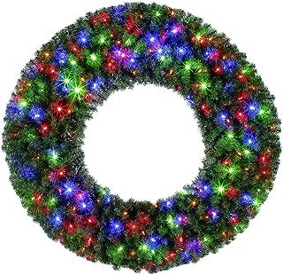 Best multi color led wreath Reviews