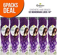 MULTI-PACK DEALS! Innocence Hair Synthetic Hair Braids EZ Bohemian Locs 18