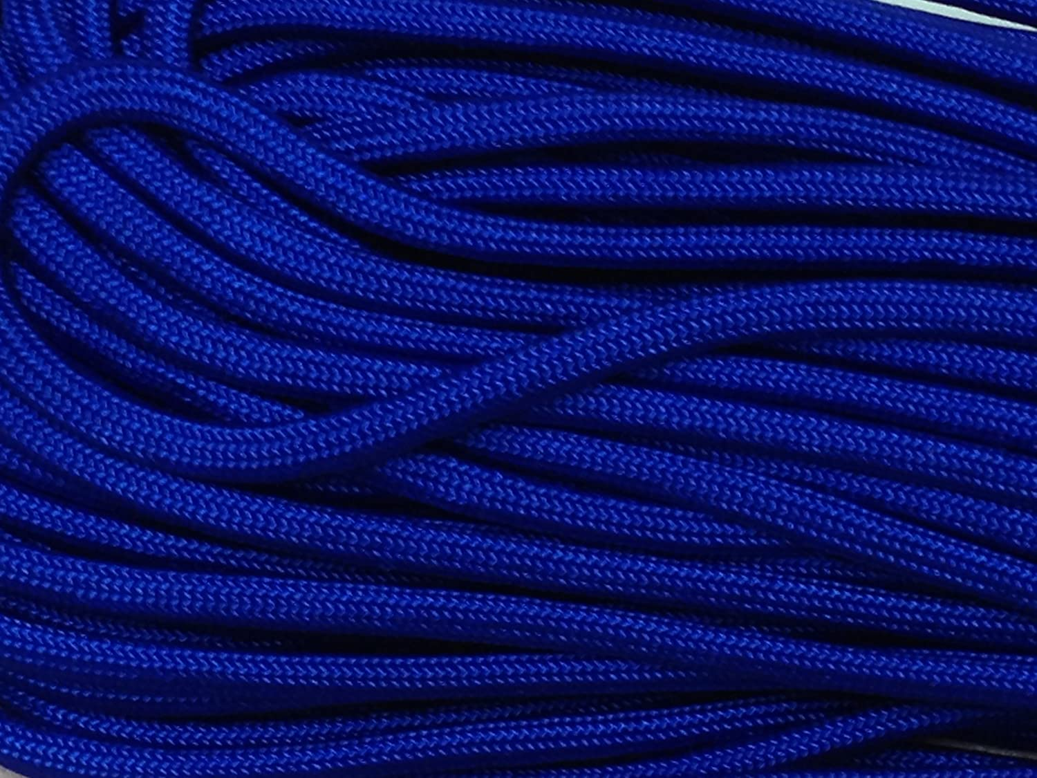 100FT Ranking TOP2 Ultra-Cheap Deals Type III Electric Blue Paracord Cord Stran 550 Parachute 7