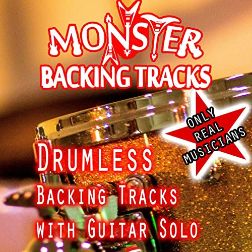 Classic Rock Drumless Backing Track, 140 Bpm Gminor by Monster