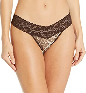 Only Hearts Women's Stretch Lace Printed Must Have Thong 1