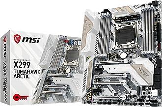 MSI X299 Tomahawk Arctic - Placa Base Arsenal (chipset X299, Mystic Light, M.2 Shield, DDR4 Boost, Audio Boost 4)