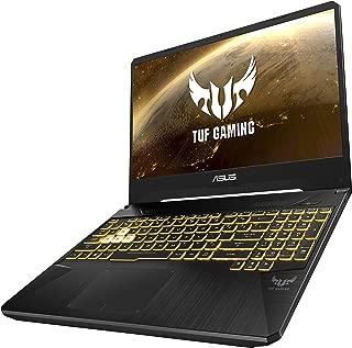 Asus TUF Gaming FX505GE-ES320T Gaming Laptop (Black) - Intel i7-8750H 4.5 GHz, 16 GB RAM, 1000 GB HDD+256GB SSD Hybrid, Nvidia GeForce GTX 1050ti, 15.6 inches IPS Windows 10, Eng-Arb-KB