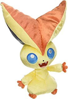TOMY Pokemon 20th Anniversary Victini (#494) 8 Inch Stuffed Plush Toy