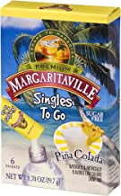 Margaritaville Singles To Go Water Drink Mix - Pina Colada Flavored, Non-Alcoholic Powder Sticks (12 Boxes with 6 Packets Each - 72 Total Servings)
