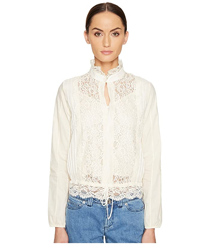 7e23cb52e9 See by Chloe Lace Front Blouse at 6pm