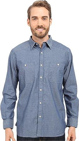Ace Indigo Long Sleeve Shirt