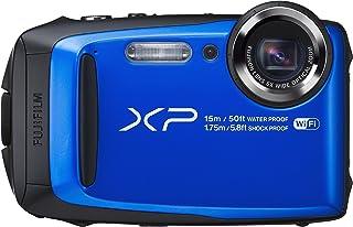 Fujifilm FinePix XP90 - Cámara digital compacta de 16 MP (sensor BSI-CMOS zoom óptico 5x gran angular de 28 mm pantalla LCD de 3 estabilizador de imagen ISO 6400 Full HD WiFi) azul
