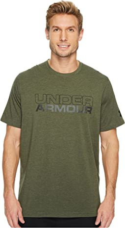 Under Armour - UA Stacked Wordmark Cotton S/S Tee