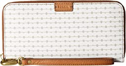 Emma RFID Large Zip Clutch