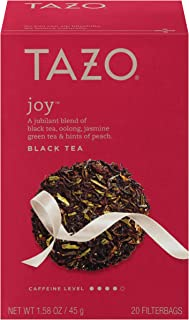 Tazo Joy Black Tea Filterbags 120 count (6 boxes of 20 bags)