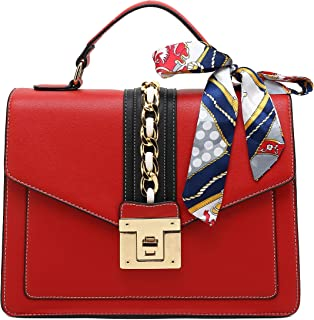 Large Top Handle Satchel Handbag for Women