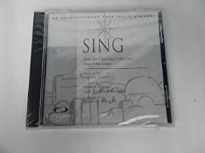 Sing / from the Christmas Collection Hope Has Come / CD Accompaniment Trax (Split/Stereo) / Integrity Music
