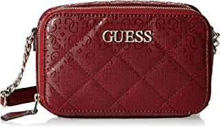 GUESS Womens Crossbody Camera Bag, Merlot - SG743869