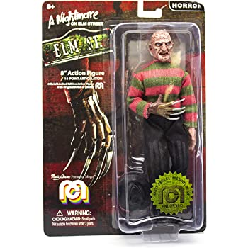 """Mego Action Figures, 8"""" Nightmare On Elmstreet - Freddy (Limited Edition Collector's Item)"""