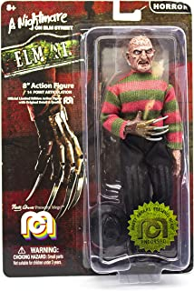 "Mego Action Figures, 8"" Nightmare On Elmstreet - Freddy (Limited Edition Collector's Item)"