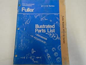 1986 Eaton Fuller RT-1110 Series Transmissions Parts Catalog OEM Used Book ***