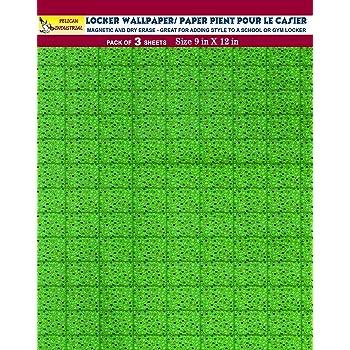 Dry Erasable Holographic Designs Full Sheet Magnetic v9 Magnetic Locker Wallpaper Pack of 4 Sheets