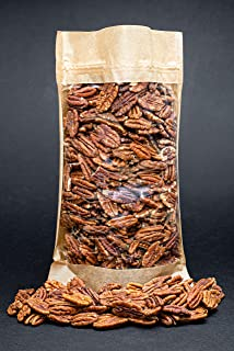 Mitades de nueces de pacana crudas, libres de transgénicos