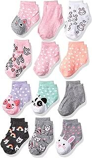 Girls' Little 12 Pack Shorty Socks