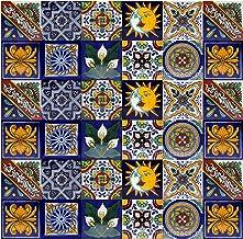 Azulejos decorativos de colores de la pared Cerames Felipe 10cm*10cm mexicano 30 piezas por paquete para cuarto de ba/ño y cocina