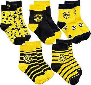 Borussia Dortmund BVB-Kindersocken 5er-Pack 02