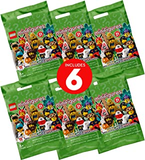LEGO Minifigures Series 21 66657, New 2021 (Pack of 6)