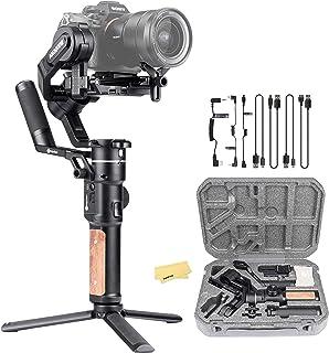 FeiyuTech Feiyu AK2000S 3軸ハンドヘルドジンバルスタビライザー、ミラーレスおよびDSLRデジタルカメラ用Sony A9 A7 ii A7III A6500シリーズCanon G7X Mark III Panasonic ...