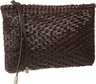 Piper Woven Leather Cross Body
