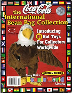 Mary Beth's Beanie World Monthly Coca Cola Special Edition 1999