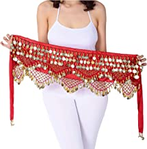 Belly Dance Hip Scarf for Women S/M/L/XL