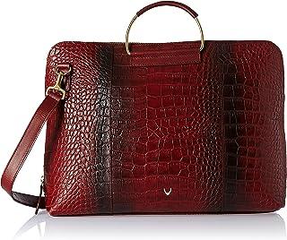 Hidesign Women's Shoulder Bag(CROCO/MEL RANCH MARSALA/MARSALA)