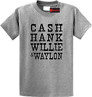 Comical Shirt Men's Cash Hank Willie Waylon T-Shirt