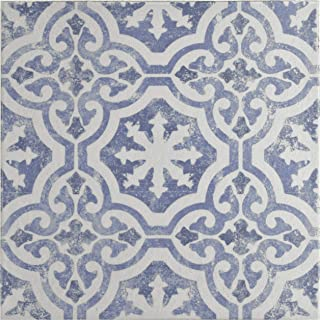 Amazon Com Blue And White Kitchen Floor Tile