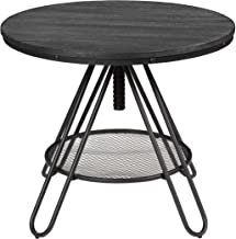 Best adjustable round dining room table Reviews