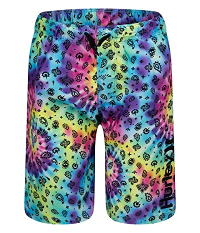 Hurley Kids Bandana Tie-Dye Pull-On Boardshorts (Little Kids) Boy