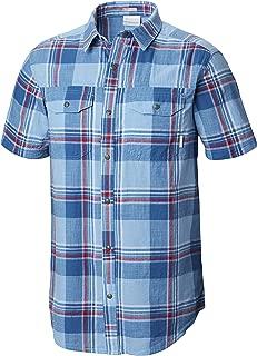 Men's Big and Tall Leadville Ridge Yarn Dye Short Sleeve Shirt