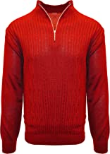 STACY ADAMS Men's Sweater, Solid Cable Knit Twist