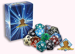 Magic: The Gathering Spindown Lot of 10 Spindowns! Includes Golden Groundhog Deck Box!