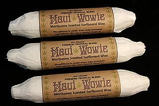Maui Wowie Marijuana Scented Surfboard Wax - Collectible Edition