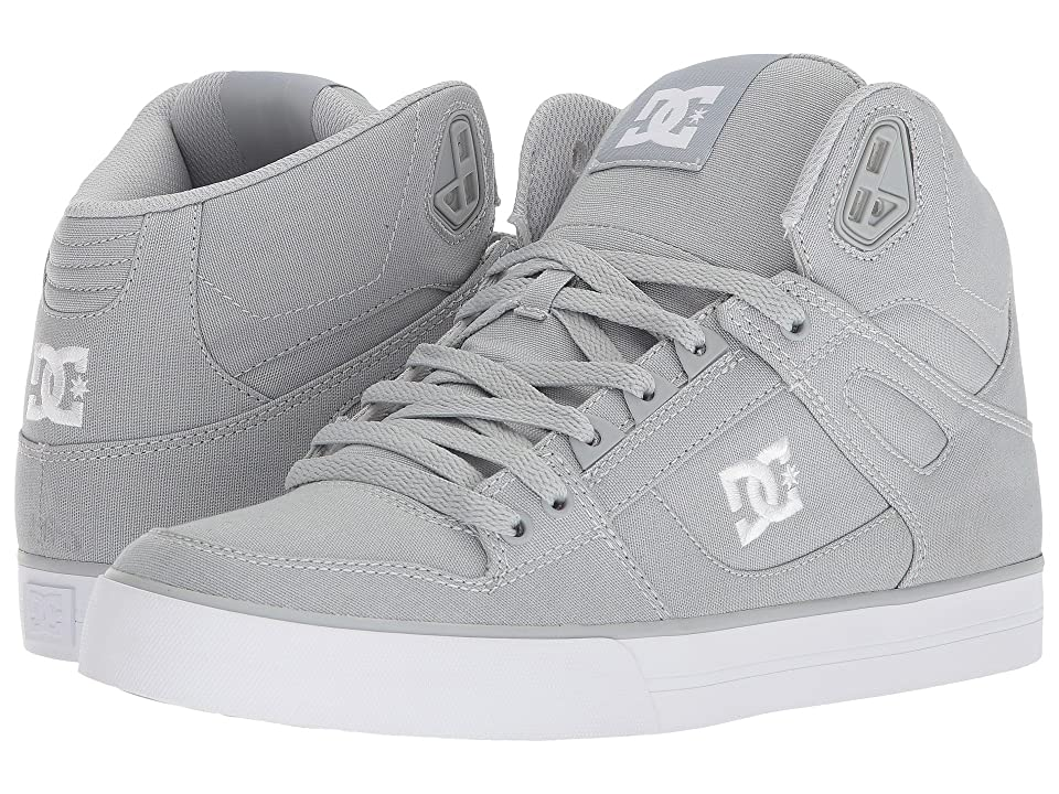 DC Pure High-Top WC TX (Grey) Men