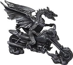 Biker Dragon on Skeleton Chopper Statue [Kitchen]