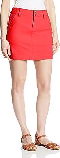 Columbia Sportswear Women's Saturday Trail Skirt, Red Hibiscus, 12