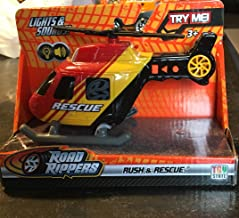 Road rippers Rush & Rescue Mini Helicopter ~ Blue