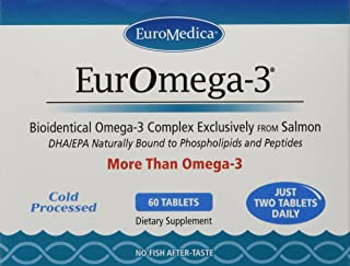 Euromedica Euromega-3 Tablets, 60 Count