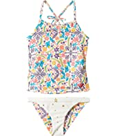 Roxy Kids - Caravine Beauty Tankini Set (Toddler/Little Kids)