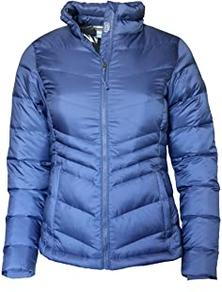 Columbia Women's Polar Freeze Short Down Jacket Omni Heat Warm Winter Coat, BERRY