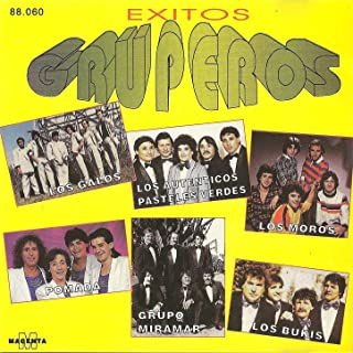 Exitos Gruperos - (Los galos - Los autenticos pasteles verdes - Los moros - Pomada- Grupo Miramar - Los bukis)