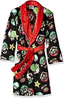 Komar Kids Boys' Big Mario Robe