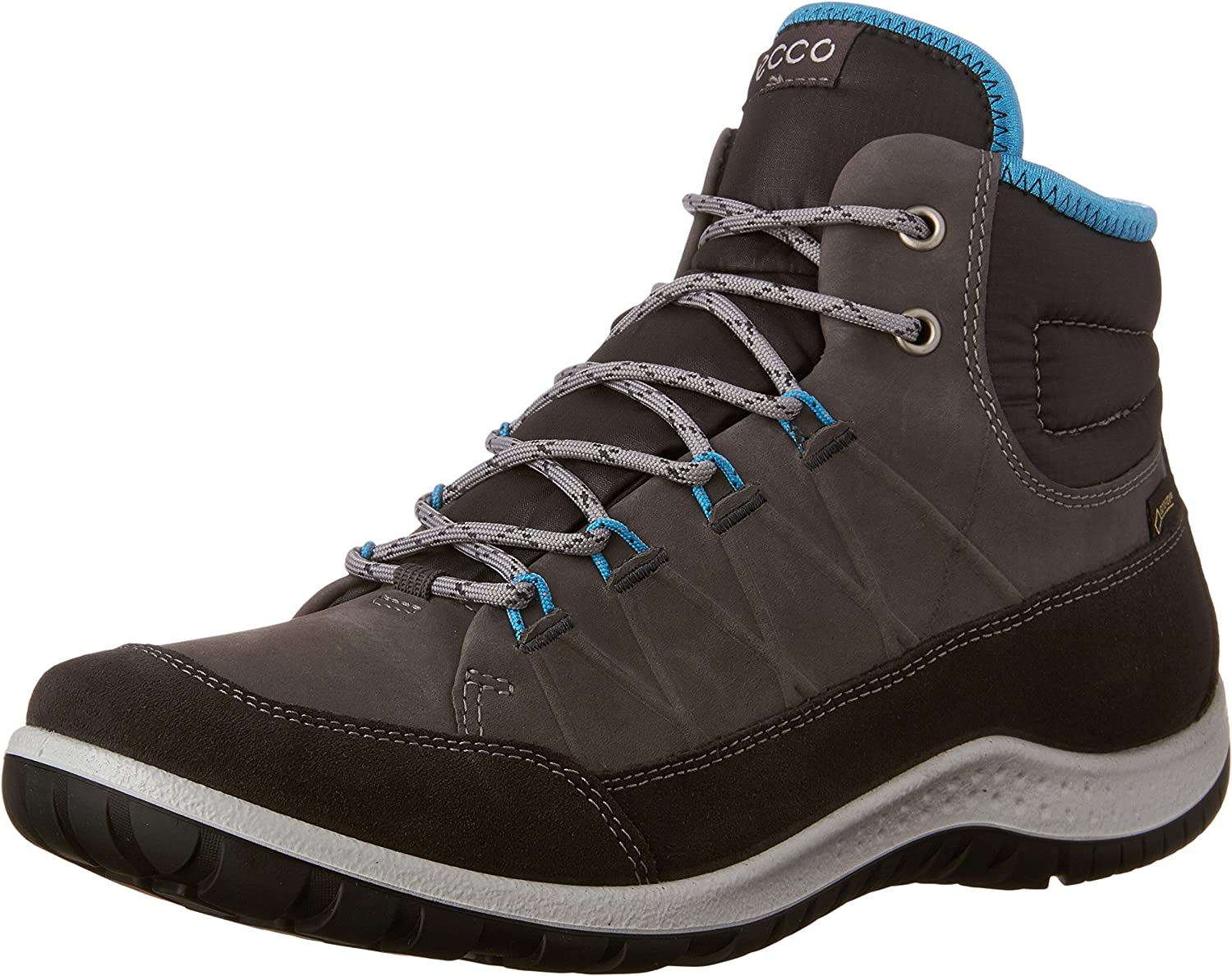 ECCO shoes Women's Apina GTX High Boot, Moonless, 42 EU 11-11.5 M US